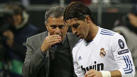 Mourinho Sergio Ramos