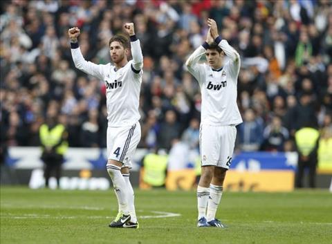 Ramos noi gi ve tuong lai tien dao Morata hinh anh 2