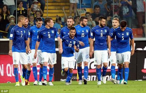 Tong hop: Italia 5-0 Liechtenstein (Vong loai World Cup 2018)