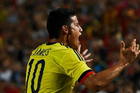 HLV Colombia da xoay Real vi re rung James Rodriguez hinh anh