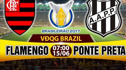 Nhan dinh Flamengo vs Ponte Preta 07h00 ngay 156 (VDQG Brazil 2017) hinh anh