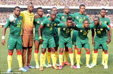 Danh sach cau thu DT Cameroon tham du Confederations Cup 2017 hinh anh