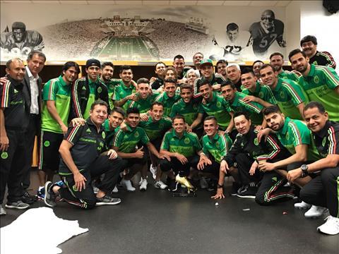 DT Mexico tai Confederations Cup 2017 An so El Tri hinh anh