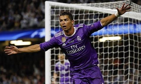 Ronaldo cuoi tuoi trong mau ao tu
