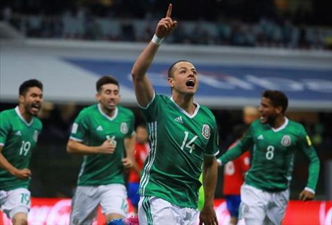 DT Mexico tai Confederations Cup 2017 An so El Tri hinh anh 2