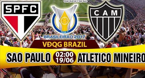 Nhan dinh Sao Paulo vs Atletico Mineiro 02h00 ngay 196 (VDQG Brazil) hinh anh
