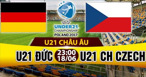 Nhan dinh U21 Duc vs U21 Czech 23h00 ngay 186 (U21 chau Au 2017) hinh anh