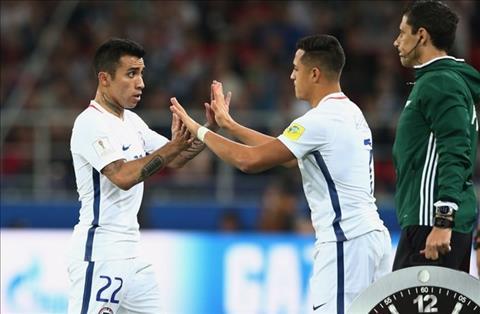 Cameroon 0-2 Chile Dau can Sanchez co, dau kho co Sanchez hinh anh 3