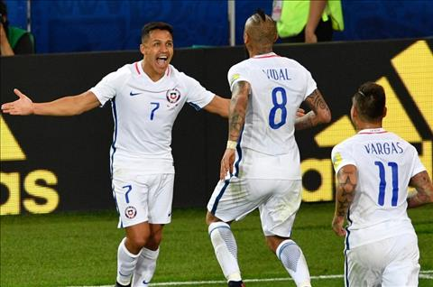 Len tuyen Chile, Vidal tranh thu du do Sanchez bo Arsenal sang Bayern hinh anh