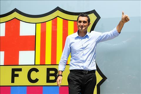 Ernesto Valverde va xuat phat diem chong gai o Barcelona hinh anh
