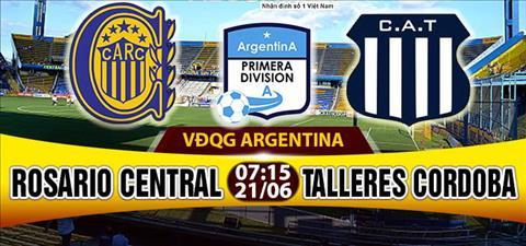 Nhan dinh Rosario Central vs Talleres 07h15 ngay 216 (VDQG Argentina) hinh anh