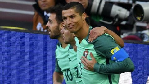 Cris Ronaldo luon ghi ban o cac giai dau chinh thuc vao ngay 21/6.