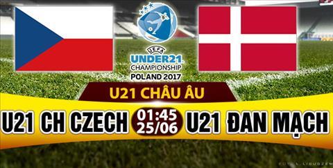 Nhan dinh U21 Czech vs U21 Dan Mach 01h45 ngay 256 (U21 chau Au 2017) hinh anh