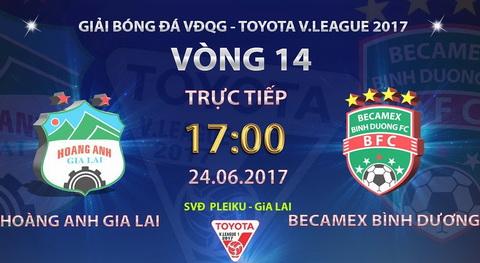Nhan dinh HAGL vs Binh Duong 17h00 ngay 246 (V-League 2017) hinh anh