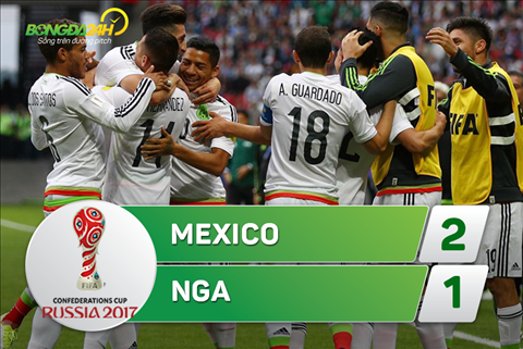 Tong hop Mexico 2-1 Nga (Confed Cup 2017) hinh anh