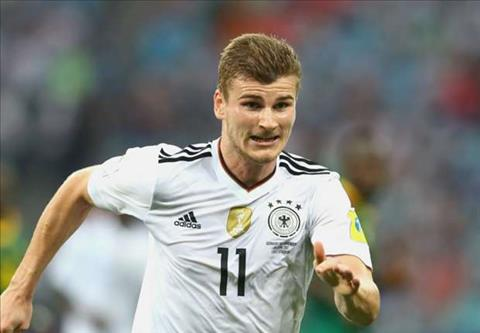 Timo Werner lap cu dup vao luoi Cameroon