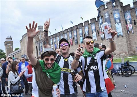 Cac CDV Juventus khong thua kem doi thu ve do cuong nhiet