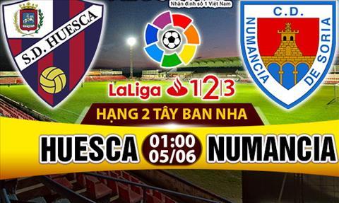 Nhan dinh Huesca vs Numancia 01h00 ngay 56 (Hang 2 TBN 201617) hinh anh