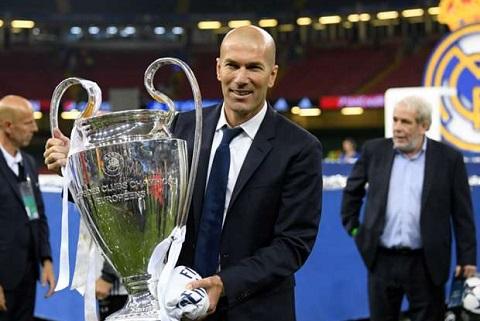 Modric Trieu dai HLV Zinedine Zidane moi chi bat dau hinh anh