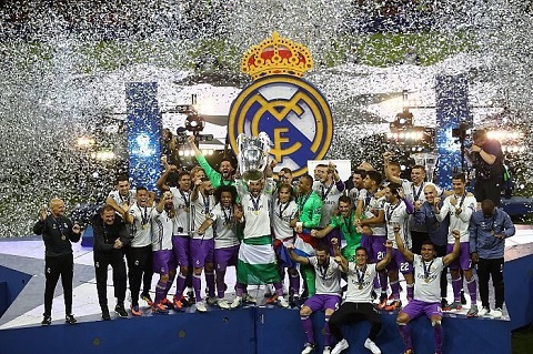 Real Madrid vo dich Champions League 201617 hinh anh