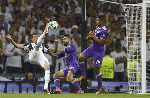 Nhung thong ke an tuong sau tran dau Juventus 1-4 Real Madrid hinh anh 2