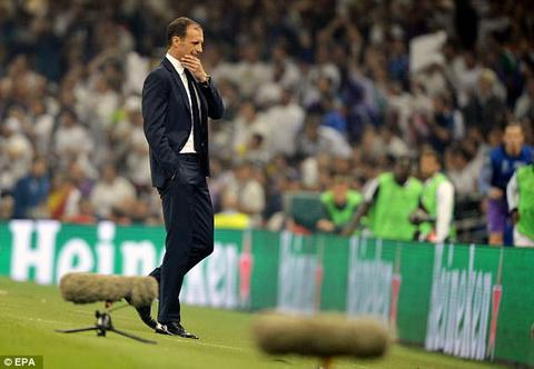 HLV Massimiliano Allegri thua nhan Juventus gap van de tam ly.