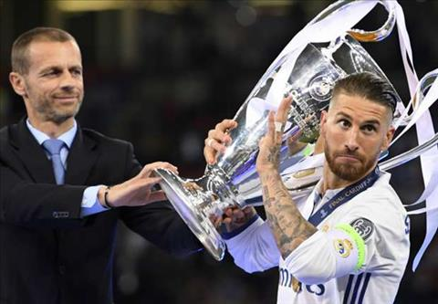 Trung ve Ramos noi gi sau tran Real 4-1 Juventus hinh anh 2