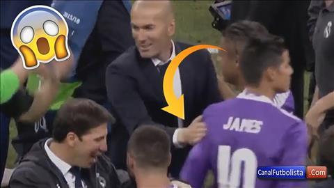 Ngo lo Zidane, James dem nguoc ngay roi Real Madrid hinh anh