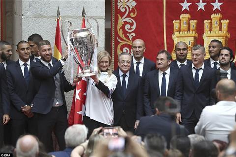 Chuc mung Real Madrid - Vi vua cua bong da chau Au