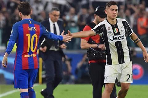 Juventus len tieng ve kha nang mat Dybala vao tay Barca hinh anh
