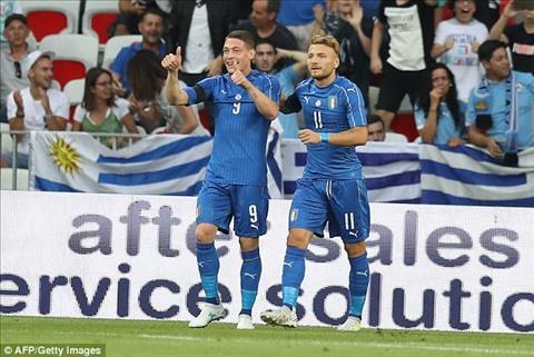 Tong hop Italia 3-0 Uruguay (Giao huu quoc te) hinh anh