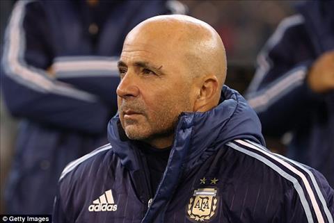 Brazil 0-1 Argentina Tan HLV Sampaoli ra mat tam on o Albiceleste nho tro cu hinh anh