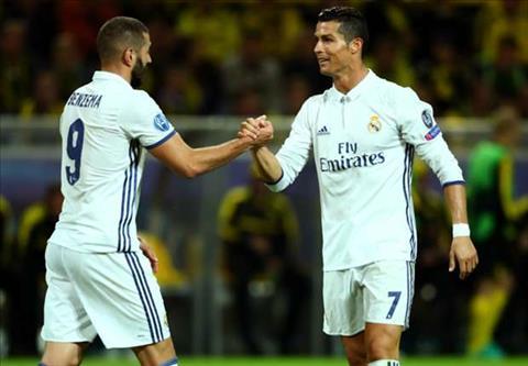 Benzema Tien dao Cristiano Ronaldo khong ich ky hinh anh 2