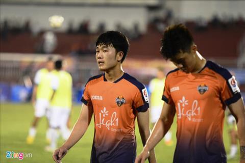 Xuan Truong thi dau nhat nhoa trong that bai cua Gangwon FC hinh anh
