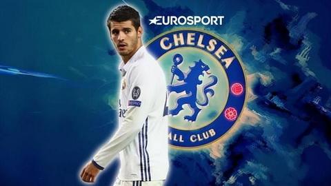 Chelsea tha giu Costa con hon mua Morata hinh anh