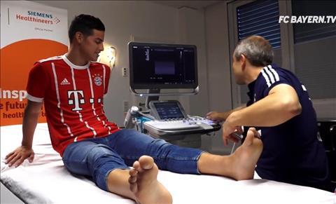 CHINH THUC James Rodriguez gia nhap Bayern Munich hinh anh
