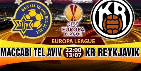 Nhan dinh Maccabi Tel Aviv vs Reykjavik 22h00 ngay 137 (So loai Europa League 201718) hinh anh