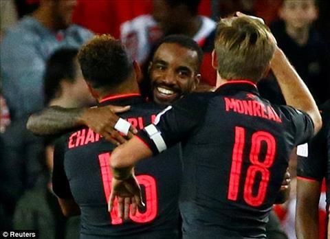 Tong hop Sydney 0-2 Arsenal (Giao huu he 2017) hinh anh