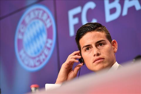 James Rodriguez da chinh thuc chuyen sang Bayern Munich