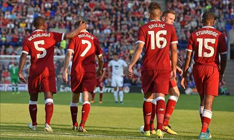 Tranmere 0-4 Liverpool The Kop mo man he 2017 day tung bung hinh anh