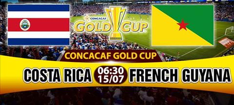Nhan dinh Costa Rica vs French Guiana 06h30 ngay 157 (Gold Cup 2017) hinh anh