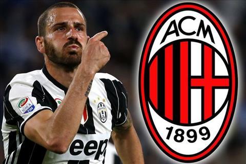 Nguoi Juventus bang hoang khi CHINH THUC mat Leonardo Bonucci vao tay AC Milan hinh anh