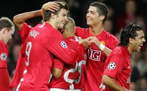Pique va Ronaldo