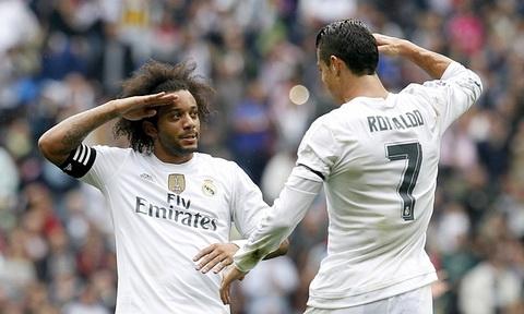 Marcelo va Cris Ronaldo co moi quan he rat than thiet.