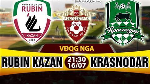 Nhan dinh Rubin Kazan vs Krasnodar 21h30 ngay 167 (VDQG Nga) hinh anh