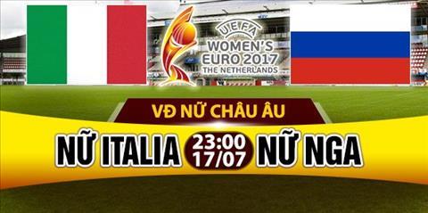 Nhan dinh Nu Italia vs Nu Nga 23h00 ngay 177 (Euro 2017) hinh anh