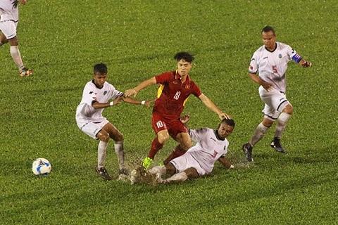 U22 Viet Nam 4-0 U22 Timor Leste Troi mua thi mac troi mua hinh anh 3