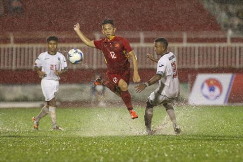 U22 Viet Nam 4-0 U22 Timor Leste Troi mua thi mac troi mua hinh anh