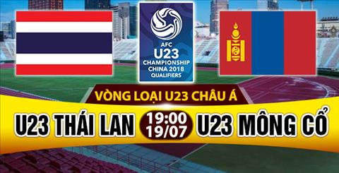 Nhan dinh U23 Thai Lan vs U23 Mong Co 19h00 ngay 197 (VL U23 chau A 2018) hinh anh