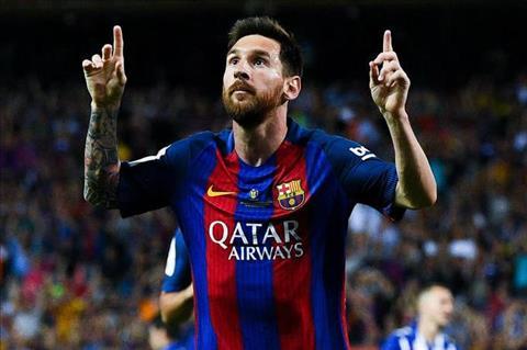 Xavi Messi lam viec nhu mot cai may hinh anh